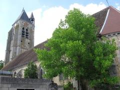Eglise Saint-Jacques-le-Majeur, à Dival - Français:   Église Saint-Jacques-le-Majeur de Villenauxe-la-Grande. (Aube, région Champagne-Ardenne)