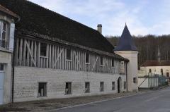 Ancienne abbaye de Clairvaux -  Hostellerie des Dames.