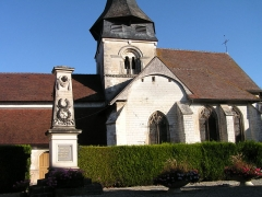 Eglise - This building is indexed in the Base Mérimée, a database of architectural heritage maintained by the French Ministry of Culture,under the reference PA00078315 .