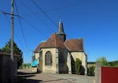 Eglise de Puits - Nederlands: Le Puits (gem. Puits-et-Nuisement, departement Aube, Frankrijk): Maria-Tenhemelopnemingskerk