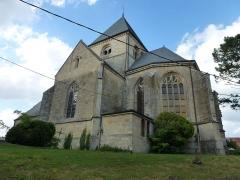 Eglise Sainte-Catherine - English:   Alland\'Huy-et-Sausseuil (Ardennes) église Sainte-Catherine d'Alland\'Huy