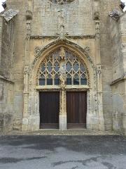 Eglise - English: Amagne (Ardennes) église Saint-Martin, portail