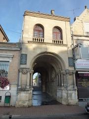 Palais de Charlemagne ou Dome - English: Attigny (Ardennes) Dôme de Charlemagne vue de l'est