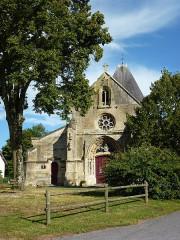 Eglise - English:   Charbogne (Ardennes) église Saint-Rémi, extérieur