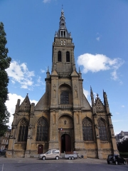 Basilique Notre-Dame de l'Espérance - English: Charleville-Mézières, Basilique Notre-Dame-d'Espérance de Mézières
