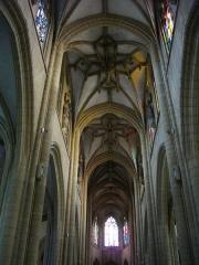 Basilique Notre-Dame de l'Espérance - Français:   Basilique Notre-Dame-d\'Espérance de Charleville-Mézières (Ardennes, France), voûtes