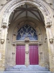 Basilique Notre-Dame de l'Espérance - Français:   Basilique Notre-Dame-d\'Espérance de Charleville-Mézières (Ardennes, France), transept sud