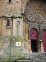 Eglise Saint-Lie de Mohon - Français:   Portail de l\'église Saint Lié à Mohon, Ardennes