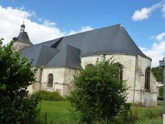 Eglise Saint-Thibault - English: Château-Porcien (Ardennes) église Saint-Thibault, chevet