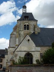 Eglise Saint-Thibault - English: Château-Porcien (Ardennes) église Saint-Thibault, clocher