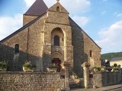 Eglise - English: L'église de Cheveuges.