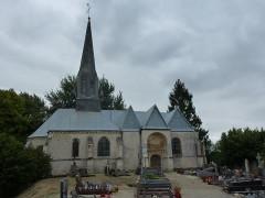 Eglise - English: Doux (Ardennes) église Saint-Martin