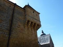Château - English: L'Échelle (Ardennes) château, detail