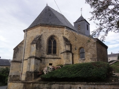 Eglise Saint-Denis - English: Évigny (Ardennes) église, chevet