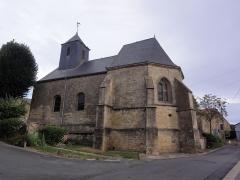 Eglise Saint-Denis - English: Évigny (Ardennes) église Saint-Denis