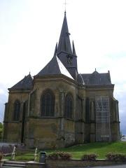 Eglise Saint-Médard -  Eglise de Grandpré (Ardennes, France)
