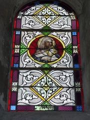 Eglise - English: Launois-sur-Vence (Ardennes) église, vitrail 15
