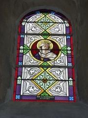 Eglise - English: Launois-sur-Vence (Ardennes) église, vitrail 13
