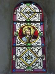 Eglise - English: Launois-sur-Vence (Ardennes) église, vitrail 08