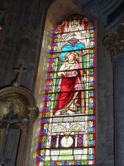 Eglise - English: Launois-sur-Vence (Ardennes) église, vitrail 03