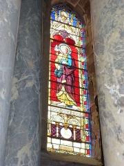 Eglise - English: Launois-sur-Vence (Ardennes) église, vitrail 04