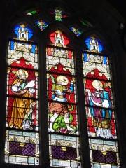 Eglise - English: Launois-sur-Vence (Ardennes) église, vitrail 16