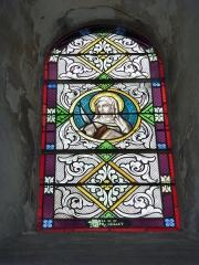 Eglise - English: Launois-sur-Vence (Ardennes) église, vitrail 14