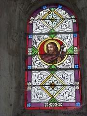Eglise - English: Launois-sur-Vence (Ardennes) église, vitrail 19