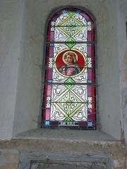 Eglise - English: Launois-sur-Vence (Ardennes) église, vitrail 18