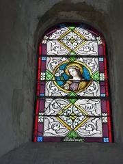 Eglise - English: Launois-sur-Vence (Ardennes) église, vitrail 12