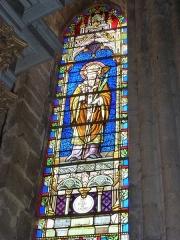 Eglise - English: Launois-sur-Vence (Ardennes) église, vitrail 05