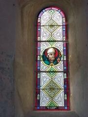 Eglise - English: Launois-sur-Vence (Ardennes) église, vitrail 06