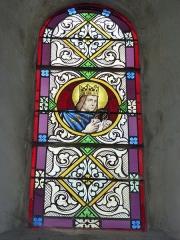 Eglise - English: Launois-sur-Vence (Ardennes) église, vitrail 10
