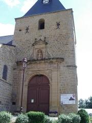 Eglise de Cliron - Français:   Église Saint-Martin de Cliron, departement des Ardennes, France.