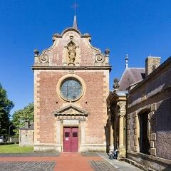 Eglise Saint-Rémi de Laval-Dieu - Français:   Abbaye de Laval Dieu, Monthermé