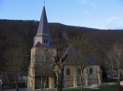Eglise Saint-Léger - Français:   église Saint-Léger, Monthermé (08)