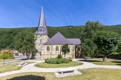 Eglise Saint-Léger - Deutsch: Église Saint-Léger de Monthermé