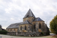 Eglise Sainte-Geneviève - This building is indexed in the Base Mérimée, a database of architectural heritage maintained by the French Ministry of Culture, under the reference PA00078472 .