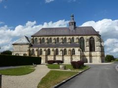 Eglise Sainte-Catherine, dite aussi Eglise Saint-Pierre du Prieuré - English: Novy-Chevrières (Ardennes) Église Sainte-Catherine