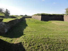 Fortifications - English:   Rocroi (Ardennes) fortifications,02