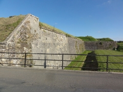 Fortifications - English:   Rocroi (Ardennes) fortifications, 01