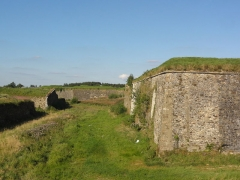 Fortifications - English:   Rocroi (Ardennes) fortifications, 04