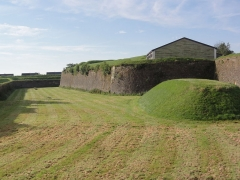 Fortifications - English:   Rocroi (Ardennes) fortifications, 16