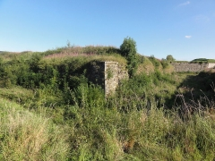 Fortifications - English:   Rocroi (Ardennes) fortifications, 07