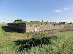 Fortifications - English:   Rocroi (Ardennes) fortifications, 10