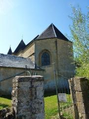 Eglise de Servion - English: Rouvroy-sur-Audry (Ardennes) église de Servion