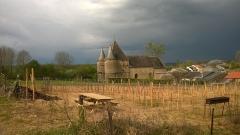 Eglise de Servion - Français:   Église Saint-Étienne de Servion à Rouvroy-sur-Audry.