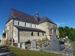 Eglise - English: Saint-Loup-Terrier (Ardennes) Église Saint-Loup vu du sud