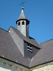 Eglise - English: Saint-Loup-Terrier (Ardennes) Église Saint-Loup clocheton
