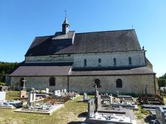 Eglise - English: Saint-Loup-Terrier (Ardennes) Église Saint-Loup vue du nord
